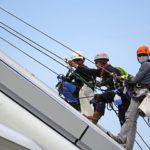 Travaux en hauteur – Port du harnais